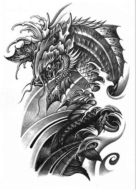 koi dragon tattoo 11 best asian koi images on koi