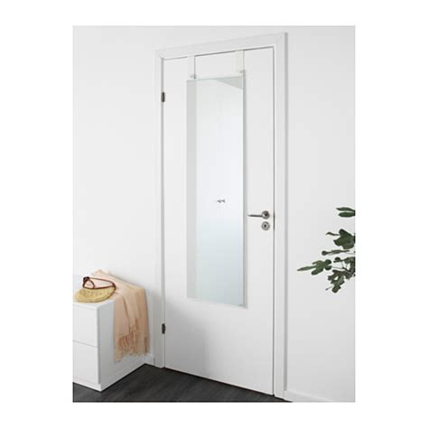 garnes the door mirror white 38x155 cm ikea