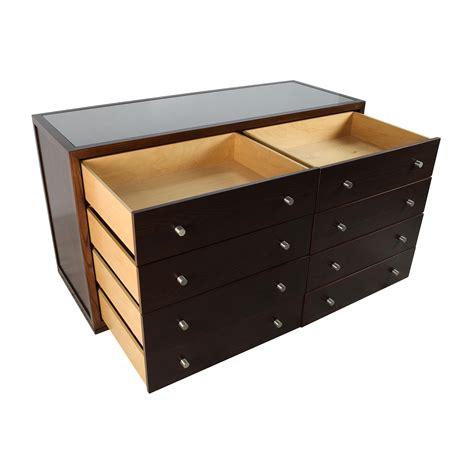 dresser top storage 89 off custom custom solid wood glass top dresser storage