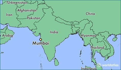 where is mumbai on the world map where is mumbai india mumbai maharashtra map