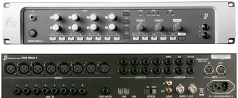 003 rack avid pro audio community