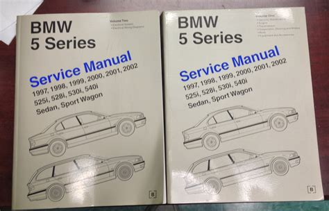 car repair manuals download 2001 bmw 5 series instrument cluster bmw e39 repair manual volume 2