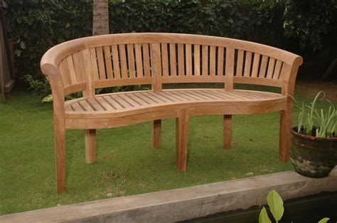 wooden curved bench curved wooden bench benches pinterest