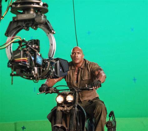 new film like jumanji jumanji video dwayne johnson posts from set