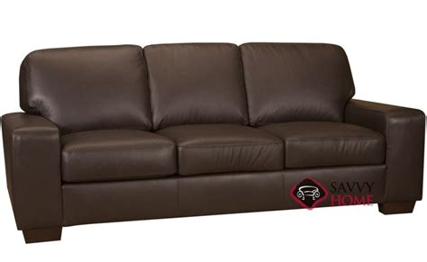 bailey sofa bailey leather sofa by leather living is fully