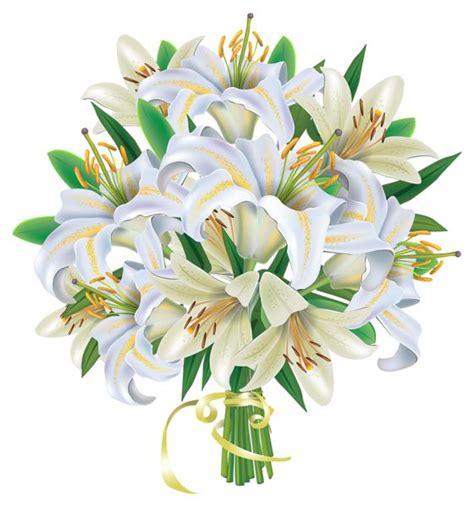 bouquet clipart white lilies flowers bouquet png clipart image bouquets