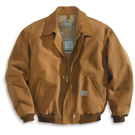 Couture Bomber Jacket For Cold Weather Season by Carhartt 174 Resistant All Season Bomber Jacket