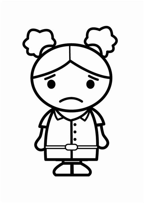 imagenes de amor triste para colorear dibujo para colorear triste img 24057