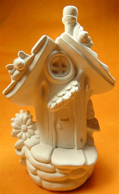 bumble bee abode ceramic fairy garden houses cottages