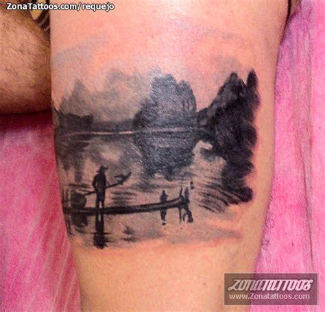 imagenes de paisajes tatuajes tatuaje de siluetas paisajes