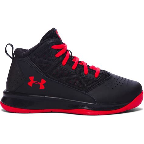 mid basketball shoes armour boys grade school jet mid basketball shoes