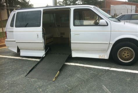 auto air conditioning service 1992 chrysler town country navigation system 1992 chrysler town country wheelchair accessible handicap van autor 45k for sale in