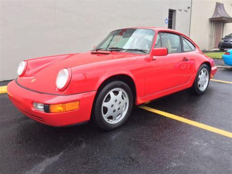 1990 porsche 911 red 1990 porsche 911 carrera 2 coupe red manual