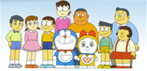 Doraemon 2017 Family Seri 2 Duo E doraemon of my
