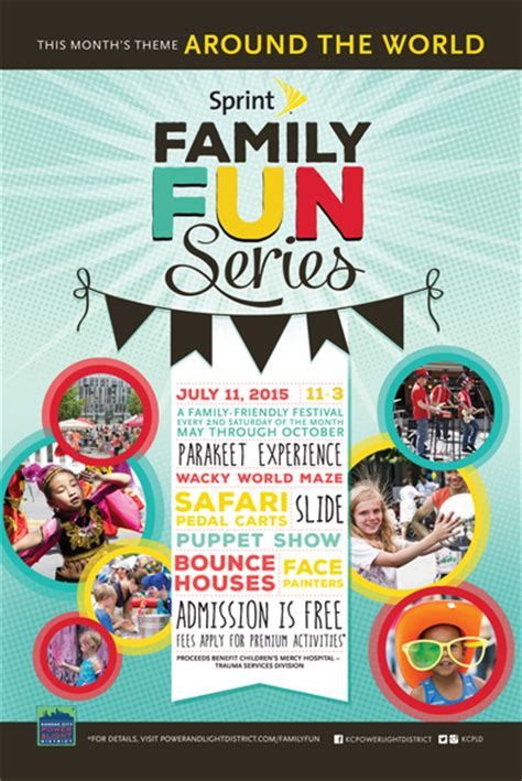 family day flyer template power light district