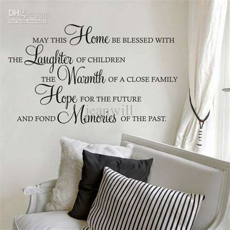 themes in this blessed house may this house be blessed wall quote decal kids lettering