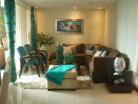 diseno propio en turquesa  marron sofas marrones decoracion de unas  casas