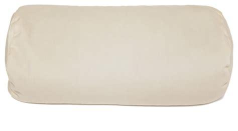 bed roll pillow buckwheat pillow neck roll pillow tan 37 x 15 x 15 cm