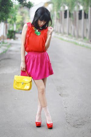New Arrival Zara Bag 2055 Pink yellow doctor bag topshop bags pink zara skirts