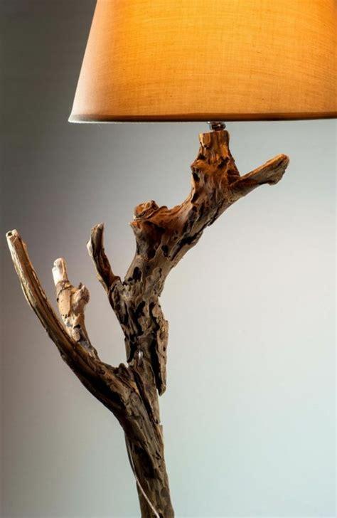Agréable Salle A Manger En Bois Gris #3: Creation-en-bois-flotte-materiaux-nature-lampe-lumiere.jpg