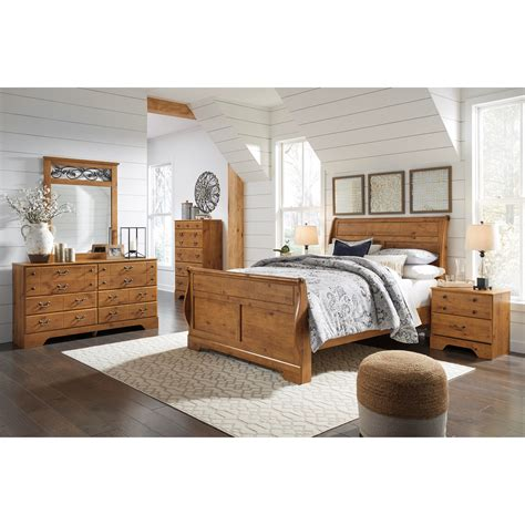 Bittersweet Bedroom by Signature Design By Bittersweet King Sleigh Bedroom