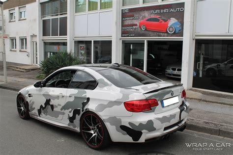 Auto Folierung by Bmw M3 Camouflage Folierung