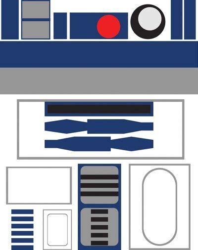 r2d2 printable template best 25 r2d2 costume ideas on r2 d2 costume