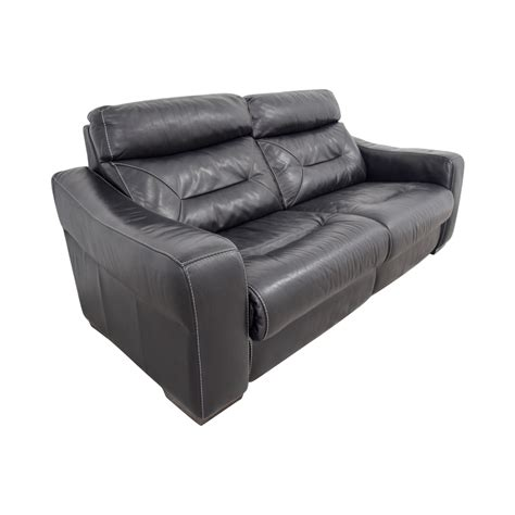 Black Leather Recliner Sofa 54 Macy S Macy S Black Leather Recliner Sofa Chairs