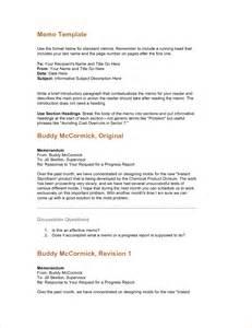 standard memo format template 4 standard memo formatreport template document report