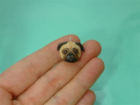 pug clay 100 best images about polymer clay charms on polymers hamsters and