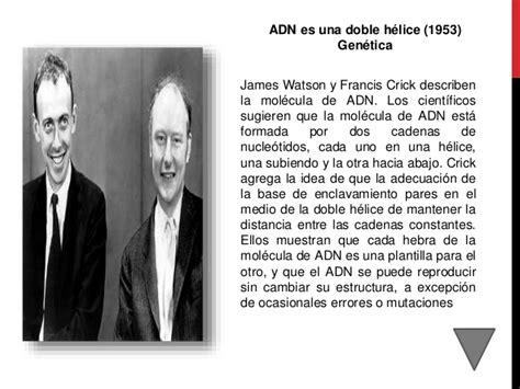 biografia watson y crick los 100 cientificos que han aportado a la ciencia