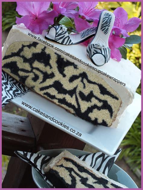 zebra pattern inside cake zebra stripes inside my cake cakecentral com