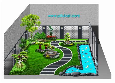 Nomor Rumah Kayu Pot Landscape tukang taman minimalis tukang taman minimalis
