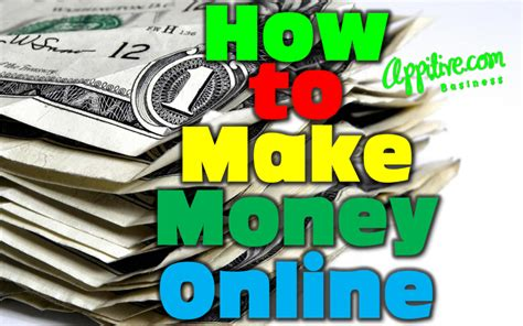 15 Ways To Make Money Online - how to make money online images usseek com