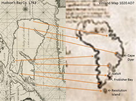 vinland map the vinland map greenland is baffin island vinland