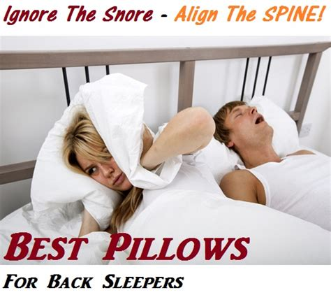 who makes the best pillow for neck what is the best pillow for back sleepers with neck and