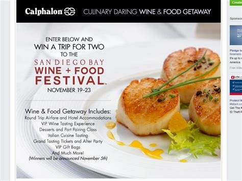 Calphalon Sweepstakes - calphalon ultimate foodie giveaway package sweepstakes