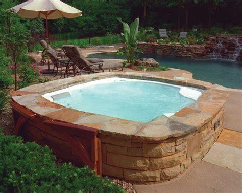 backyard hot tub ideas hot spring backyard ideas traditional patio san