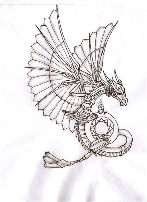 steampunk dragon google search steampunk tattoo design
