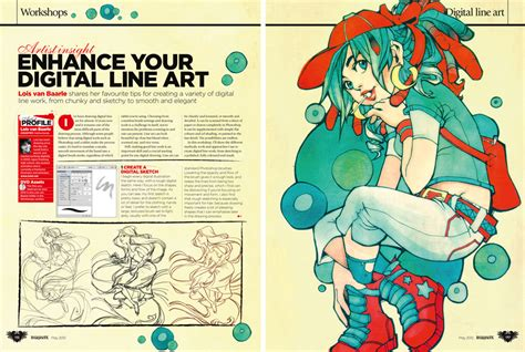 art tutorial line art loish net