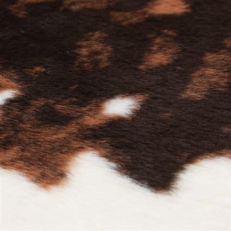 cowhide rug price el paso brown faux cowhide rug ecarpet gallery touch of modern