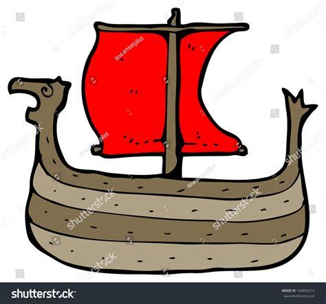 viking boats cartoon cartoon viking boat stock photo 104859212 shutterstock