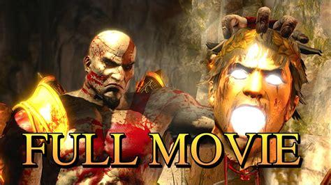 film god of war complet god of war 3 remastered full game movie 1080p 60fps