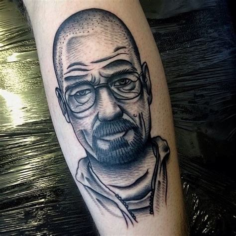 walter white tattoo awesome walter white tattoos