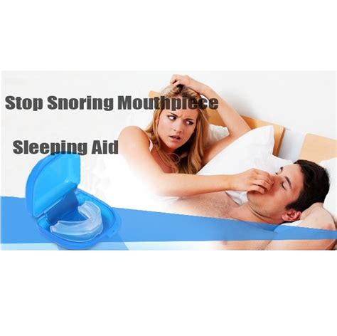 Alat Selam Godive Spare Part Mouthpiece stop snoring solution mouthpiece suits protect device alat bantu anti ngorok blue