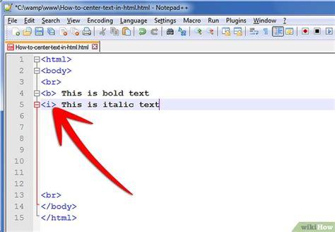 imagenes html centrar c 243 mo centrar un texto en lenguaje html 9 pasos