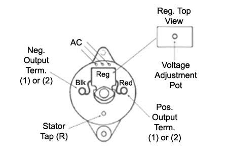 prestolite marine alternator wiring diagram wiring
