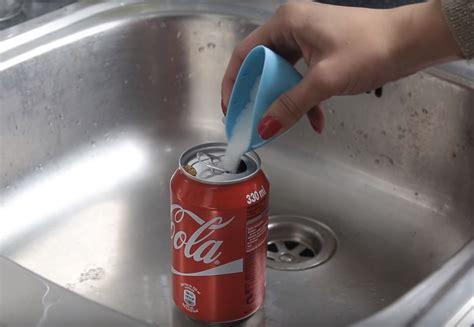experimento agua con sal experimento mezcla coca cola con sal