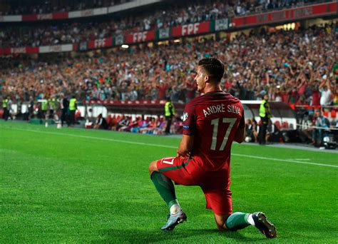 World Cup Portugal international up andr 233 silva s goal secures