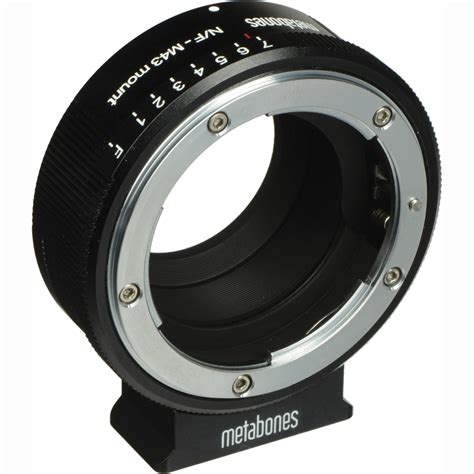 Lens Mount Adapter For Nikon G Lens To Sony E Mount metabones nikon g lens to micro four thirds lens mb nfg m43 bm1